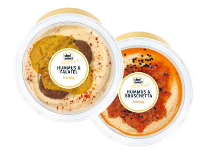 Chef Select Hummus mit Topping